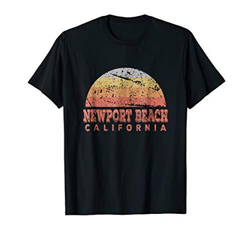 Newport Iced - Newport Beach California Retro Vintage Sunset Shirt