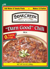Bear Creek Darn Good Chili Mix (6x9.8oz ) by Unknown