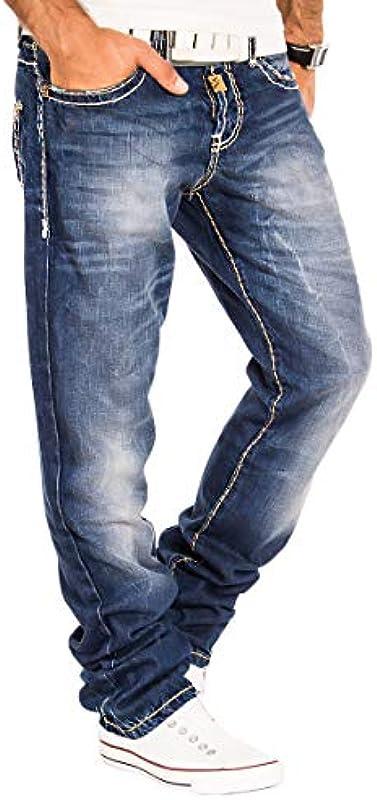Cipo & Baxx Męskie Jeans Hose Denim Jeanshose: Odzież