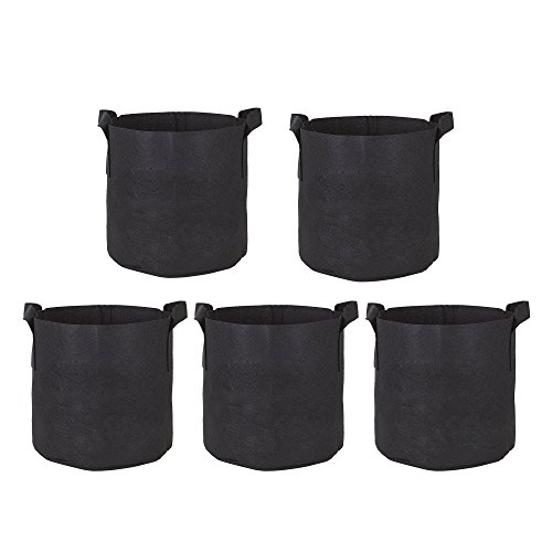 7 gallon fabric pot pack - 8