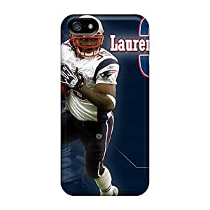 High Quality Hard Phone Cover For Iphone 5/5s (QNU15451kDwk) Support Personal Customs Trendy New England Patriots Pattern