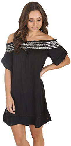 Roxy Junior's Firefly Lights Coverup Dress, Anthracite,