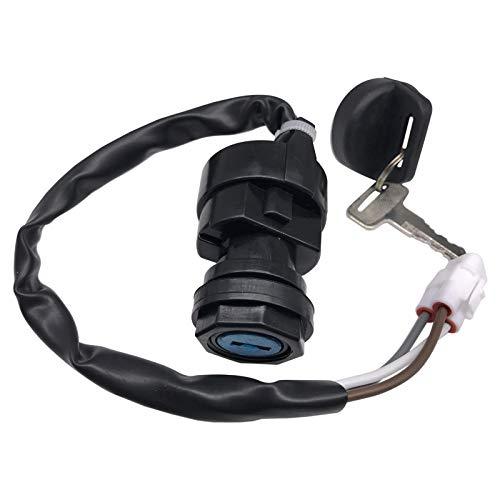 Zsoog lgnition Key Switch fits KAWASAKI KFX700 KFX-700 KSV700 650 KVF650 4X4