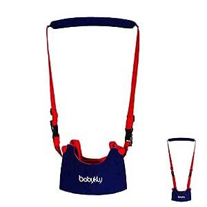 Yakamoz Arnés andador para bebés seguro con tirantes ajustables y cinturón de protección para aprender a caminar
