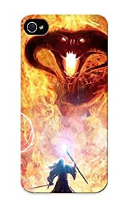 New Cute Funny Gandalg And Balrog - Lord Of The Rings Case Cover/ Iphone 5/5s Case Cover For Lovers
