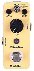 Mooer MAC1 Akoustikar Acoustic Guitar Simulator
