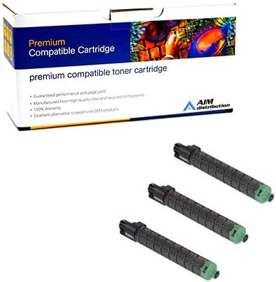 AIM Compatible Replacement for Savin C230//240 Toner Cartridge Combo Pack S415CMY Type 400E C//M//Y - Generic