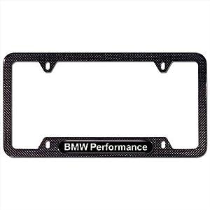 Amazon Com Bmw License Plate Frame Carbon Fiber