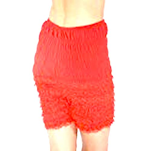 Malco Modes Womens Ruffle Panties Bloomers Dance Bloomers for Sissy Victorian (Red, -