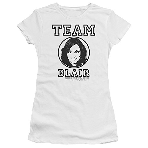 Trevco Gossip Girl Team Blair Women's Sheer Fitted T - T-shirts Girl Gossip