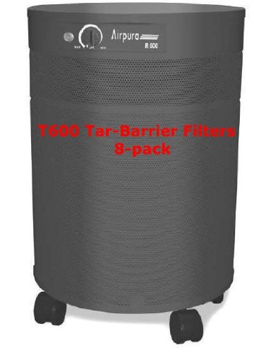 - Airpura Industries T600 6pk Replacement Tar Barrier Filters for the T600