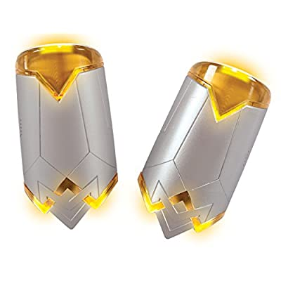 Rubie's Costume Girls Justice League Wonder Light-Up Gauntlets with Sound Effects Costume, One Size: Toys & Games