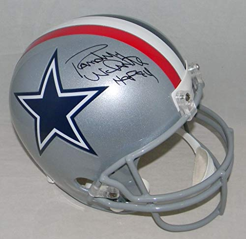 Randy White Autographed Signed Memorabilia Dallas Cowboys Full Size 1976 Helmet - JSA Authentic