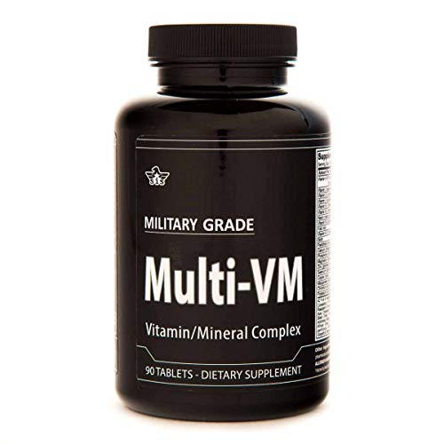 Daily Mutivitamin and Mineral Complex -USA Made- General Health – GMP Certified – 90 Tablets Review