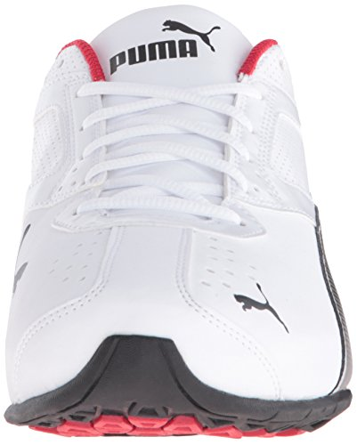 PUMA Men's Tazon 6 FM Puma White/ Puma Black/ Puma Silver Running Shoe - 7.5 2E US by PUMA (Image #4)