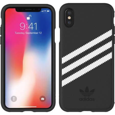 26111fd48a768 Amazon.com: Adidas ADDS32073 Moulded PU Samba Case for iPhone X/Xs ...