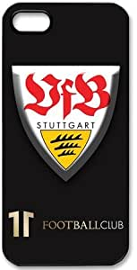 VfB Stuttgart Logo FC HD image case cover for iphone 5 black A Nice Present by mcsharks