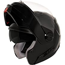 Hawk ST-1198 Transition 2 in 1 Black Modular Helmet - Large
