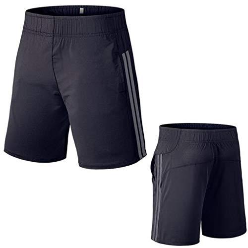 Gris Pantalon Peau À Serré De Sport Bande Musculation Poche Short La Séchage Aptitude Hommes Magiyard Pqx6BC