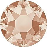 2000, 2038 & 2078 Swarovski Flatback Crystals Hotfix Light Peach