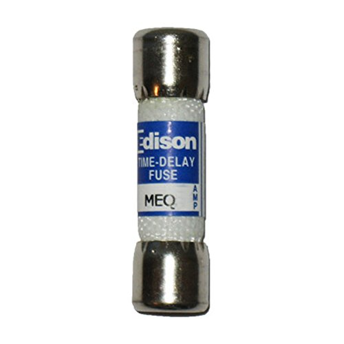 Edison Brand MEQ 3 Midget Fuses Time-Delay Fuse 3 Amp 500Vac MEQ Bussmann