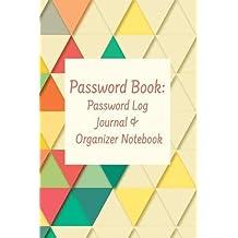 Password Book: Password Log Journal & Organizer Notebook