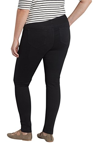4a898e38160 Maurices Women's Denimflex Plus Size Pull On Jegging In Black good ...