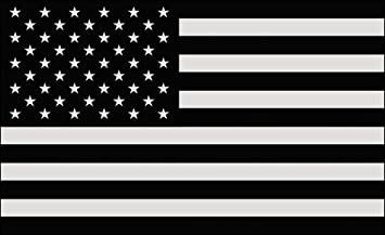 Amazoncom BlackGray USA FLAG Sticker Muted Army America - Motorcycle helmet decals militarysubdued american flag sticker military tactical usa helmet decal