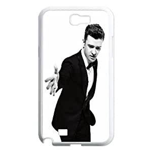 Celebrities Stylish Justin Timberlake Samsung Galaxy N2 7100 Cell Phone Case White Protect your phone BVS_617349