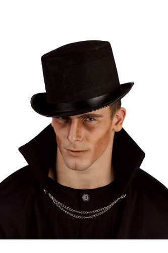 Adult Grey Top Hat (Top Mens Halloween Costumes 2017)
