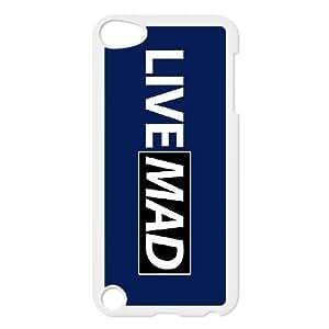 live mad nithinsuren iPod Touch 5 Case White xlb2-088024