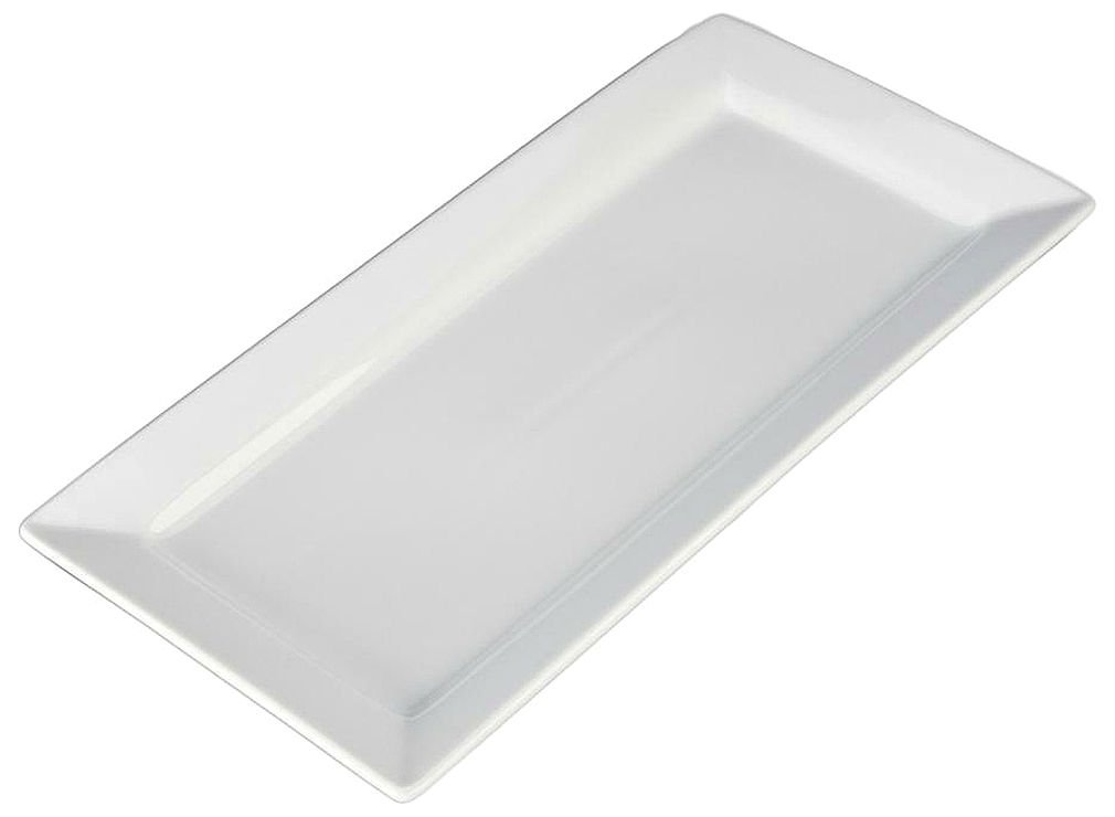 BIA Cordon Bleu, Inc. White Rectangle Platter