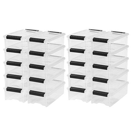 UPC 689833778586, IRIS 5 Quart Stack & Pull Box, 20 Pack