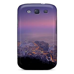 High Quality Shock Absorbing Case For Galaxy S3-monaco Sunset Monte Carlo