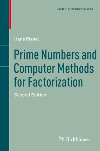 Download Prime Numbers and Computer Methods for Factorization (Modern Birkhäuser Classics) Pdf