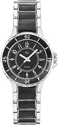 GO, Girl Only Glamour Analogue Black Dial Women's Watch - 694972