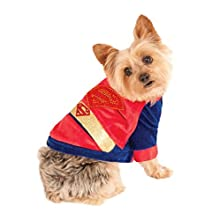 Rubies Costume DC Heroes and Villains Collection Pet Costume, Large, Cuddly Superman