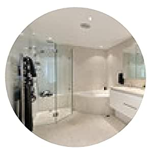 alfombrilla de ratón interior del dormitorio moderno - ronda - 20cm