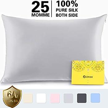 Amazon Com J Jimoo Silk Pillowcase For Hair And Skin 100