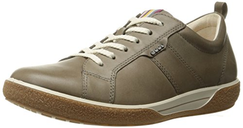 ECCO Footwear Womens Chase Tie Sneaker, Warm Grey, 39 EU/8-8.5 M US by ECCO
