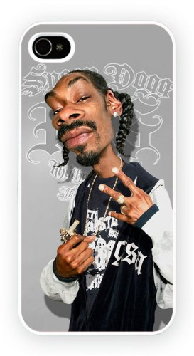 Snoop Dogg Caricature Celebrites, iPhone 5 5S, Etui de téléphone mobile - encre brillant impression