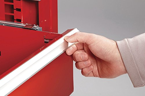 Waterloo Professional Series 5-Drawer Rolling Tool Cabinet with Internal Tubular Keyed Locking System, Red Finish, 26'' W by Waterloo (Image #2)