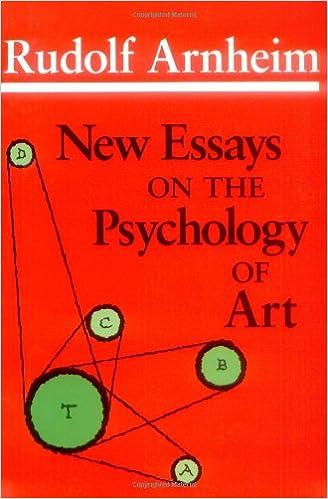 new essays on the psychology of art rudolf arnheim  new essays on the psychology of art rudolf arnheim 9780520055544 com books
