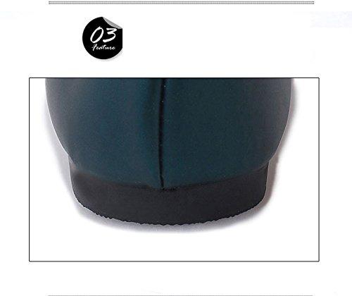 Kengät Vihreä Pumput Naiset Teräväkärkiset Kengät Naisten Osapuoli Tyylikäs Baletti Rento Asuntoja Loafers Patentti Toimivat Luistaa Ballerina TOSwOUZx