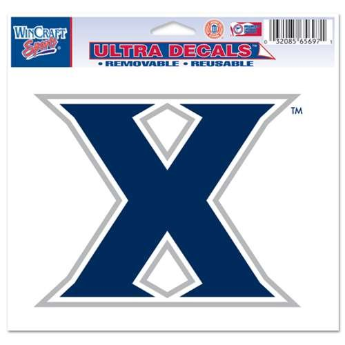 NCAA Xavier University Multi-Use Colored Decal, 5