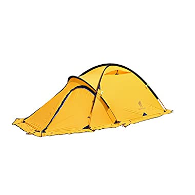 GEERTOP® 4-season 2-person 20D Lightweight Backpacking Alpine Tent For Camping, Hiking, Climbing, Travel - With A Living Room