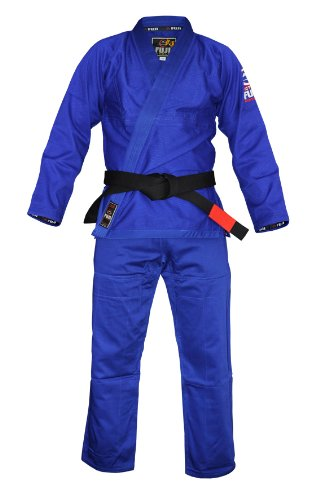 Fuji Summerweight BJJ Uniform, Blue, A4
