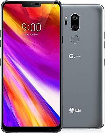 LG G7 ThinQ G710ULM 64GB GSM Unlocked Phone w/ Dual 16MP Camera's -  Platinum Gray