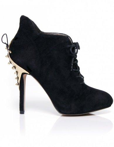 df8a7703125117 Sam Edelman Womens Shoes Black Elsa Lace Shoe Boots 7UK 40EU  Amazon ...