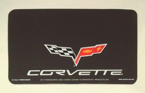 C6 Corvette Black Fender Gripper 2005 06 07 08 09 10 - Fender Replacement Cover